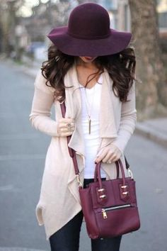 I love everything about this. Lovely Fall / Winter Outfit. by nellie
