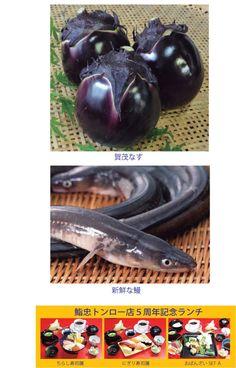 日本料理店「鮨忠」の7月のお薦めは「鰻」と「賀茂なす」