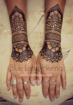 Latest Fancy & Stylish Mehndi Trends & Designs Collection 2016-2017 (13)