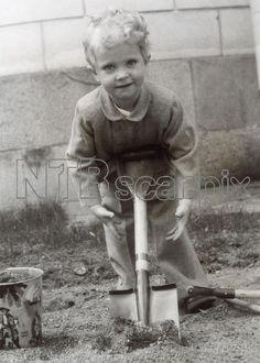 Crown Prince Carl Gustaf on his 3rd birthday.