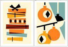 orla kiely christmas cards - Google Search
