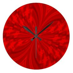 Abstract Butterfly Red Clocks #zazzle #clock #red #abstract #butterfly http://www.zazzle.com/zazzlewallclocks