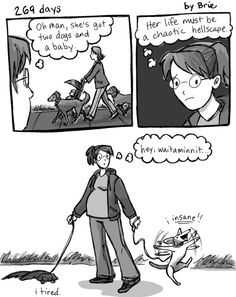 OMG this will be me! LOL! Diary Comic AboutExpecting - blog - Pregnant Chicken