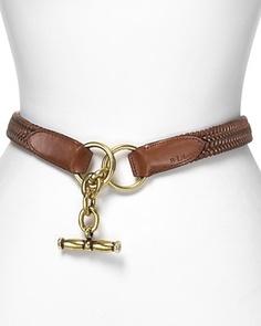 Lauren Ralph Lauren Belt - Tubular Woven with Toggle | Bloomingdale's