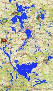 Znalezione obrazy dla zapytania mapa jezior mazurskich