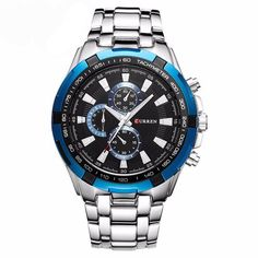 Item Type: Quartz Wristwatches Case Material: Stainless Steel Clasp Type: Bracelet Clasp Feature: Water Resistant Dial Display: Analog