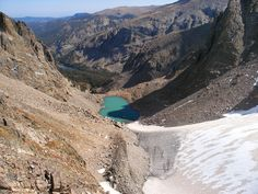 Andrews Glacier, Rocky Mountain National Park, Colorado - On my list of places to hike after the baby is born.