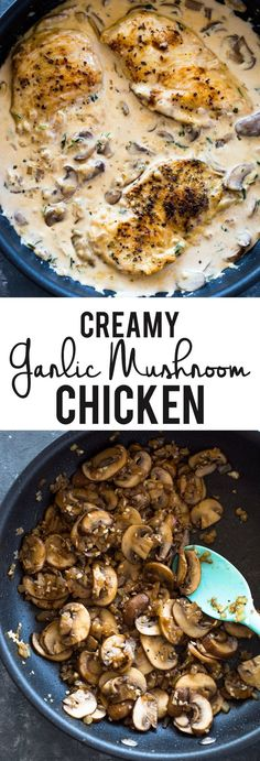 Low Carb Recipes With Chicken And Mushrooms Creamy Garlic Parmesan Mushroom Chicken Low Carb Keto Gimme Easy Low Carb Instant Pot Chicken Marsala Delicious Low Carb Recipes My Crazy Good Life Ke. Creamy Mushroom Chicken, Creamy Garlic Mushrooms, Chicken Mushroom Recipes, Chicken Recipes, Crockpot Mushrooms, Keto Chicken, Best Low Carb Recipes, Low Carb Dinner Recipes, Keto Dinner