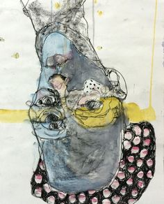 Featuring work by Veronica Cay - no standing (still) available at Anthea Polson Art on the Gold Coast Australia, specialising in contemporary Australian art and sculpture Abstract Faces, Ap Art, Australian Art, Illustrations, Figurative Art, Veronica, Art Sketches, Book Art, Collage