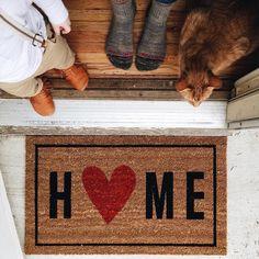 Models Doormat Funny for Decoration Front Door House - Ideas Prácticas, Craft Ideas, Decor Ideas, House Front Door, Front Doors, Front Porch, Funny Doormats, Interior Design Living Room, Just In Case