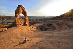 Picture of Delicate Arch in Arches National Park, Utah