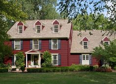 cottage red Benjamin Moore