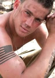 Channing Tatum... Just for Anj because I cant think of anyone else when I see a pic of him.