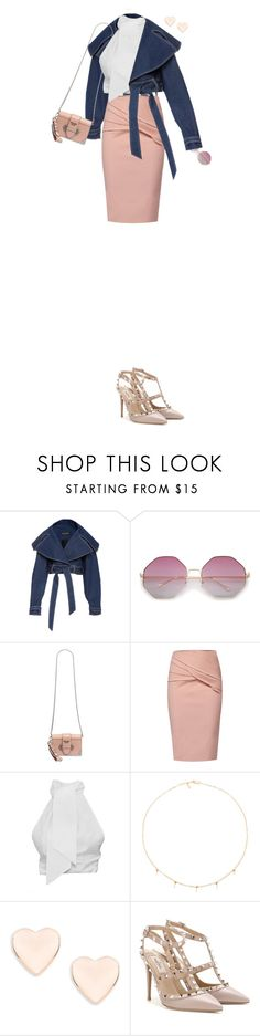 """""""She's Ready......."""" by prettynposh2 ❤ liked on Polyvore featuring WtR, Amarilo, Ted Baker, Valentino and denim"""