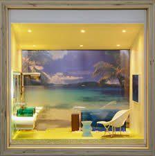 Afbeeldingsresultaat voor artists and designs model their dream houses in miniature
