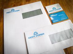 Design logo met bijpassende huisstijl voor onze klant groep Safety Systems // inclusief drukwerk   @www.twindesignbvba.be