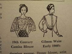 1950s Fashion Dictionary - everything you need to know about fashion! $55