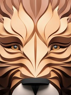 Inspirations Graphics Illustration Maxim Shkret Predators Flat - Fascinating 3d renderings of people and animals by maxim shkret