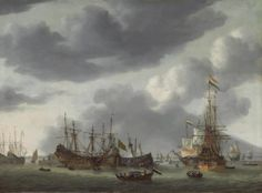 1600-luvun laivoja.