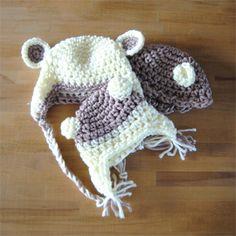 Gorros de lana para el invierno. Venta en www.maimimira.com