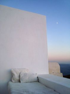 Cycladic open terrace with sea view