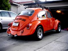 Encounterparts: Once upon a time, I had this 1972 Super Beetle. It was exactly…