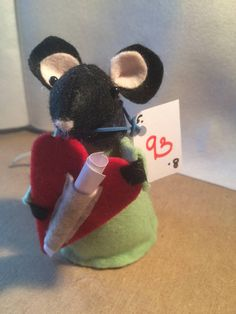 sweet valentine mouse