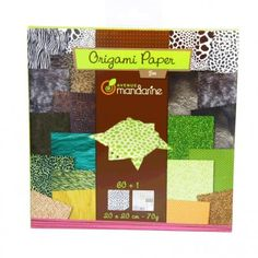 Papier origami AVENUE MANDARINE Zoo 60 feuilles : Chez Rentreediscount Loisirs créatifs Educational Games, Stickers, Origami Paper, Gifts For Kids, Creative Art, Creative Crafts, Drawing Drawing, Leaves, Presents For Kids