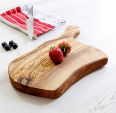 Olive Wood Cheese / Chopping Board