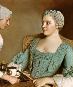 Jean-Étienne Liotard - The breakfast.