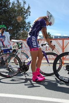 Cycling won't make your thigh bigger, but MORE SEXY