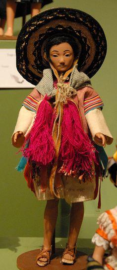 Muñeca. Maya Doll Mexico by Teyacapan.