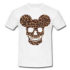 Leopard Print Skull♥♥♥