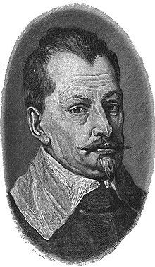 Portrait of Wallenstein by Anthony Van Dyck, 1629.  Albrecht von Wallenstein was a Czech soldier and politician, who offered his services, and an army of 30,000 to 100,000 men during the Danish period (1625–29) of the Thirty Years' War (1618–48), to the Holy Roman Emperor Ferdinand II.  He became the supreme commander of the armies of the Habsburg Monarchy and a major figure of the Thirty Years' War.  Ultimately,Ferdinand had the general assassinated at Eger (Cheb) in Egerland. European History, World History, Anthony Van Dyck, Thirty Years' War, Holy Roman Empire, Germany And Italy, Roman Emperor, Lutheran, Military History