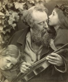 Whisper of the Muse by Julia Margaret Cameron, England, 1874. l Victoria and Albert Museum