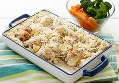 shop Recipe - Countdown NZ Ltd Rice Bake Recipes, Low Carb Recipes, Healthy Recipes, Meal Ideas, Food Ideas, Chicken Rice Bake, Cooking Tips, Cooking Recipes, Honey Mustard Chicken