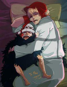 One Piece - OP - Corazon - Rosinante - Trafalgar Law - Trafalino - Sleep - Dormire