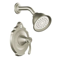 Moen T2502BN Vestige Posi-Temp Shower Trim Kit without Valve, Brushed Nickel