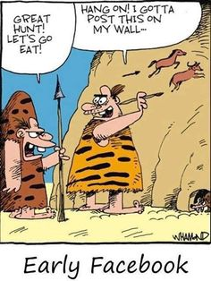 A little art history humor for my students Early Facebook - Cartoon - Humor