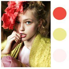 "melon, yellow, pink color thoughts d-E*    HTML      R      G      B  Color code/name  Sample         #EDE990 237.00 233.00 144.00 Match #1  3.55 #EEEC99 237.64 235.55 153.16 ""2025-50 LEMON FREEZE""  Match #2  5.70 #FDED99 252.74 237.00 153.06 ""2022-50 SUNDANCE""  Match #3  6.32 #E4EA9A 227.57 234.05 154.13 ""2026-50 FRESH CUT GRASS""  Match #4  6.54 #FEEF9F 253.52 238.97 158.51 ""2023-50 LEMON MERINGUE"""