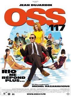 OSS 117 : Rio ne répond plus de Michel Hazanavicius (2008) : les affiches