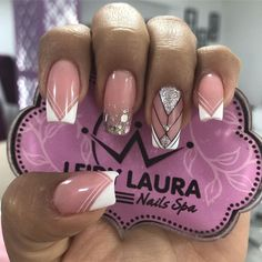 Acrylic nails is the best place for your nails Beauty Spa, Nail Spa, Perfect Nails, French Nails, Love Nails, You Nailed It, Nail Art Designs, Acrylic Nails, Manicure