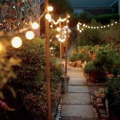 Solar-Powered LED Globe String Lights (Warm-White And Multi-Colour Available)