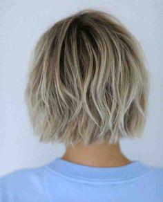 coupe cheveux carré court décoiffé