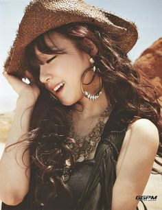 Tiffany (Girls' Generation) for GG in Las Vegas photobook