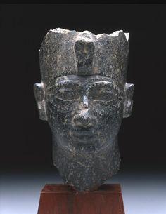 Diorite statue of Amenhotep II.