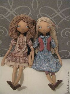 Коллекционные куклы ручной работы. Ярмарка Мастеров - ручная работа Викуля. Handmade.