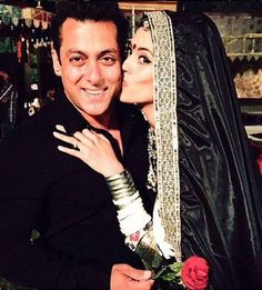 Who kissed Salman Khan on Valentine's Day?