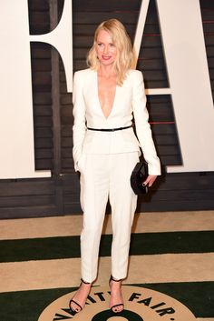 Naomi Watts in Giorgio Armani partying After the Oscars [Photo by Tyler Boye]