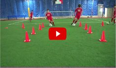 Football 1v1 and Finishing Drill. The best videos and articles on the web for football coaches.